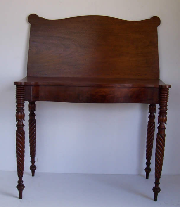 Federal Mahogany Card Table - Tables Formal American And High Style Country Furniture And